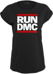 Run DMC Logo Tee Black S