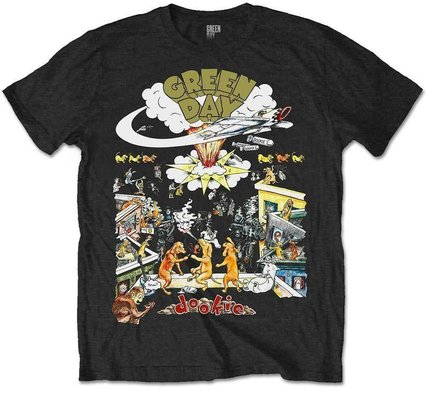 Green Day Unisex Tee 1994 Tour Black M