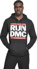 Run DMC Logo Hoody Black