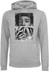 Wiz Khalifa Half Face Hoody Heather Grey XL