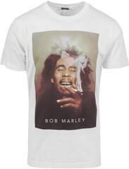 Bob Marley Smoke Tee White L