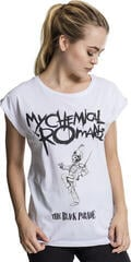 My Chemical Romance Ladies My Chemical Romance Black Parade Cover Tee White