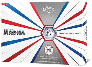 Callaway Supersoft Magna Golf Balls 19 White 12 Pack