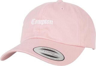 Compton Dad Cap Pink One Size