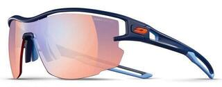Julbo Aero Reactiv Zebra light RED Dark Blue/Dark Blue