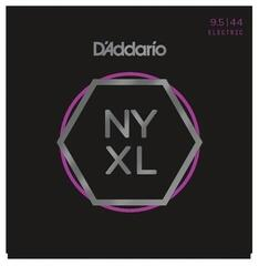 D'Addario NYXL09544 Nickel Wound Super Light Plus 9.5-44