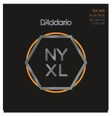 D'Addario NYXL1046BT Nickel Wound Balanced Tension 10-46