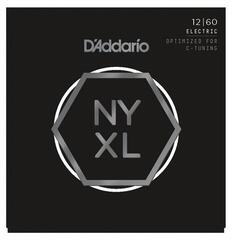 D'Addario NYXL1260 Nickel Wound Extra Heavy 12-60