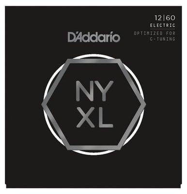 D'Addario NYXL1260 Nickel Wound Extra Heavy 12-60