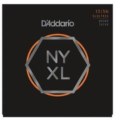 D'Addario NYXL1356W Nickel Medium Wound 3rd 13-56