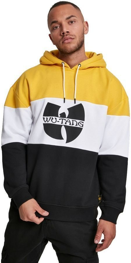 Wu-Tang Clan Block Hoody Black/White/Yellow XXL Wu-Tang Clan