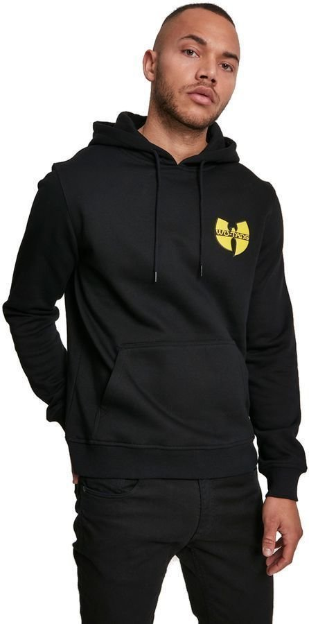 Wu-Tang Clan Chest Logo Hoody Black L Wu-Tang Clan