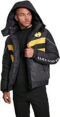 Wu-Wear Wu-Tang Puffer Jacket Black