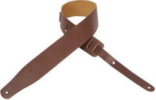 Levys M26 Leather Guitar Strap, Brown