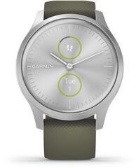 Garmin vívomove Style Silver/Moss Green Silicone