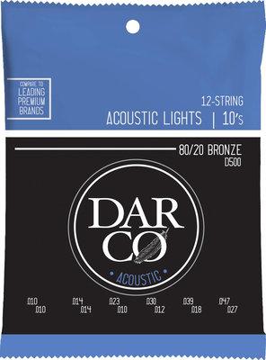Darco 80/20 Bronze 12-String Light