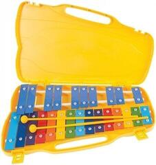PP World 25 Note Glockenspiel Coloured Metal Keys
