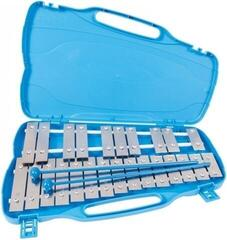 PP World 25 Note Glockenspiel Silver Metal Keys