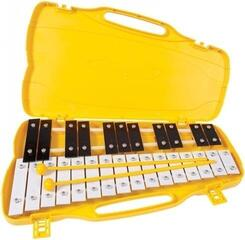PP World 27 Note Glockenspiel Black/White Metal Keys