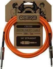 Orange Crush Instrument Cable Portocaliu/Drept - Drept