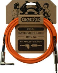 Orange Crush Instrument Cable Orange/Straight - Angled