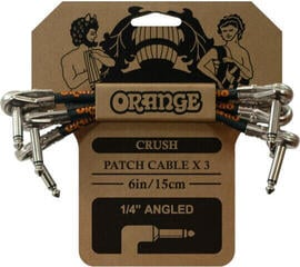 Orange Crush 6'' Patch Cable 3 pack