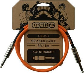 Orange Crush 3ft Speaker Cable Jack to Jack