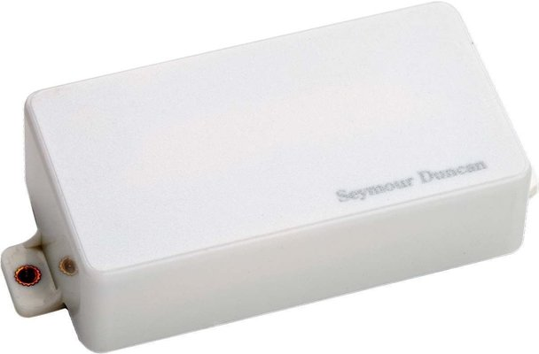 Seymour Duncan AHB-2B Blackouts Metal Bridge Humbucker White