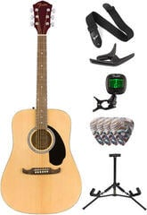 Fender FA-125 Dreadnought WN Natural Deluxe SET