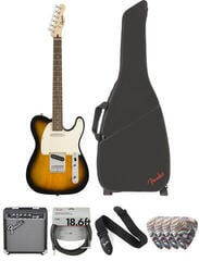 Fender Squier Bullet Telecaster IL Brown Sunburst Deluxe SET