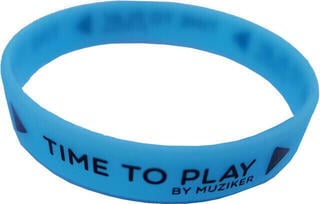Muziker Wristband Glow in the Dark Blue