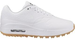 Nike Air Max 1G Womens Golf Shoes White/White/Medium Brown Gum