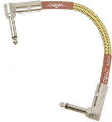 Fender Performance Series Patch Cable 15 cm Tweed