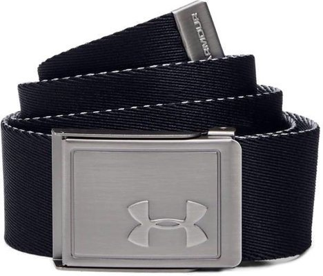 Under Armour Boys Webbing 2.0 Belt Black