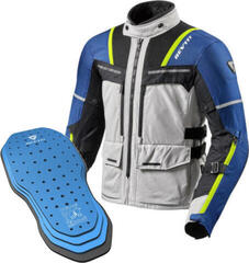 Rev'it! Jacket Offtrack Silver-Blue M Protector 04SET
