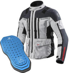 Rev'it! Jacket Sand 3 Silver-Anthracite L Protector 05SET