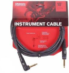 D'Addario Planet Waves GRA Instrument Cable Black/Straight - Angled