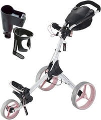 Big max IQ+ White/Pink/Grey Golf Trolley Deluxe SET