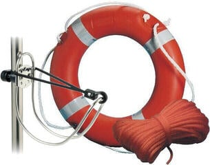 Osculati MED-approved Ring Lifebuoy + Rope + Bracket SET