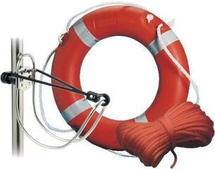 Osculati MED-approved Ring Lifebuoy + Rope + Bracket SET
