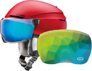 Atomic Savor Visor Stereo Red S SET