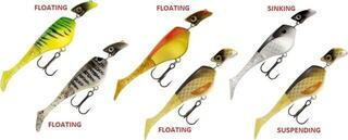 Headbanger Lures Shad 11 cm Mix 6SET