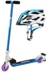 Razor S Spark Sport Blue Helmet SET