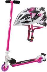 Razor S Spark Sport Pink Helmet SET