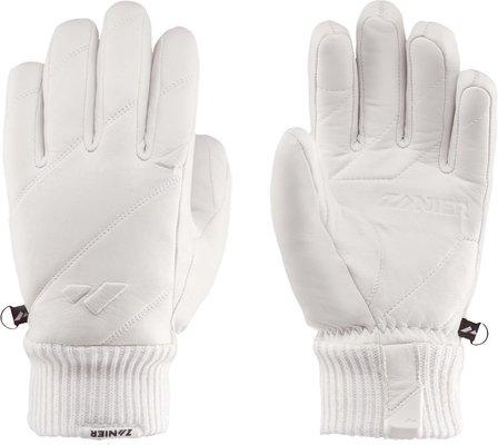 Zanier Vogue Ski Gloves White 6,5