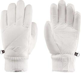 Zanier Vogue Ski Gloves White