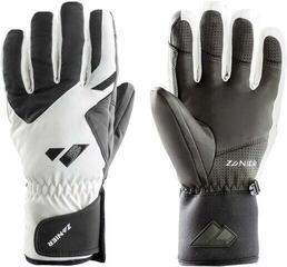 Zanier Wagrain.GTX Ski Gloves White/Black