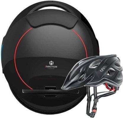 Inmotion V5F Black City Light Anthracite Helmet 56-61 SET