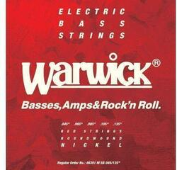 Warwick 46301M RED LABEL 5 string set Medium Low B