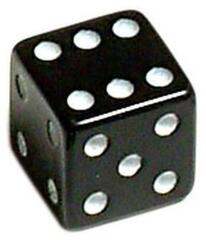 Oxford Luck Dice Valve Caps Black